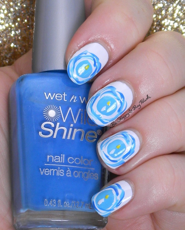 Hanukkah candles nail art | Be Happy And Buy Polish