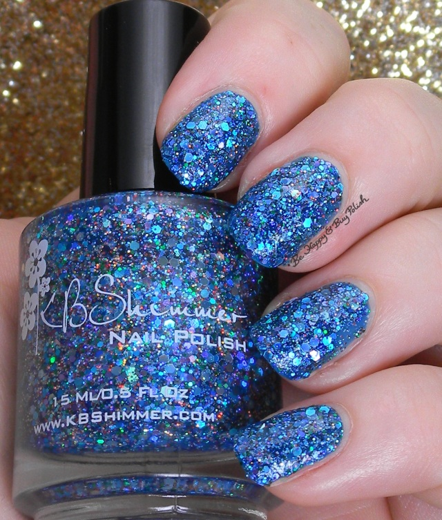 KBShimmer Too Cold To Hold | Be Happy And Buy Polish