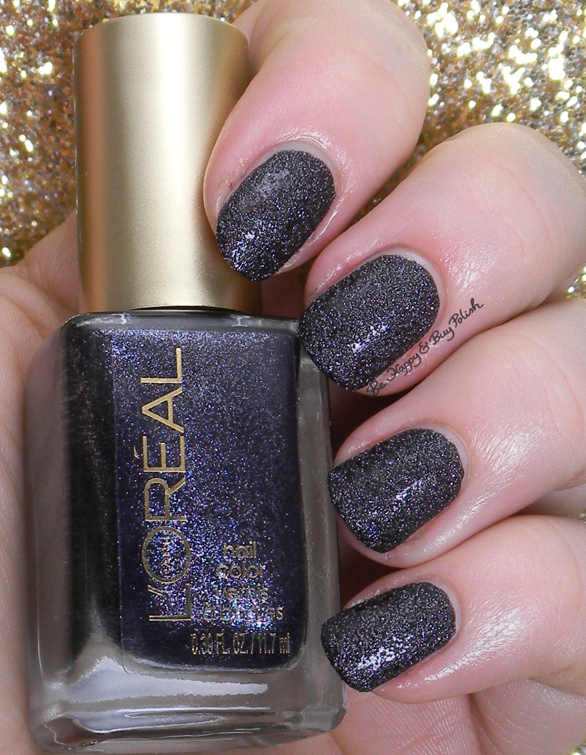 L'Oreal Dark Sides of Grey nail polishes swatches + review | Be ...
