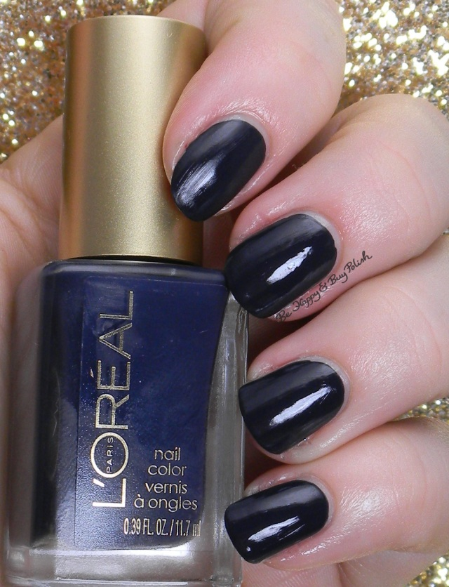 L'Oreal Grey Corset with topcoat | Be Happy And Buy Polish