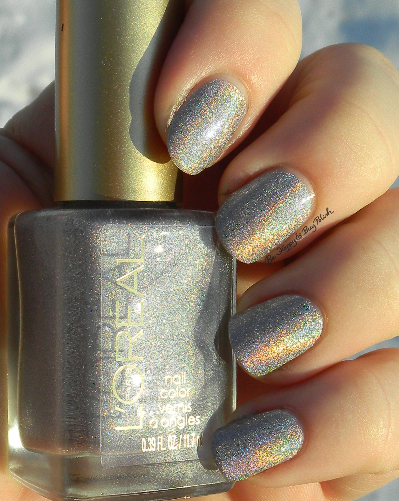 L'Oreal Dark Sides of Grey nail polishes swatches + review ...