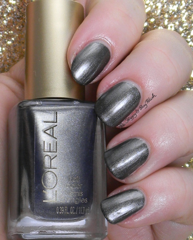 L'Oreal Miss Grey | Be Happy And Buy Polish