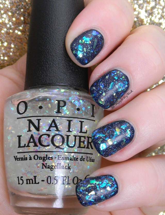 OPI Come Out of Your Shell, Incognito in Sausalito, China Glaze Fairy Dust | Be Happy And Buy Polish
