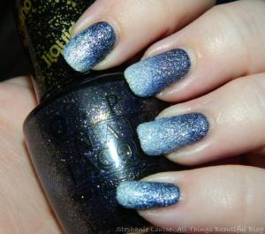 OPI Textured Ice Liquid Sand Alcatraz + Solitare | All Things Beautiful XO