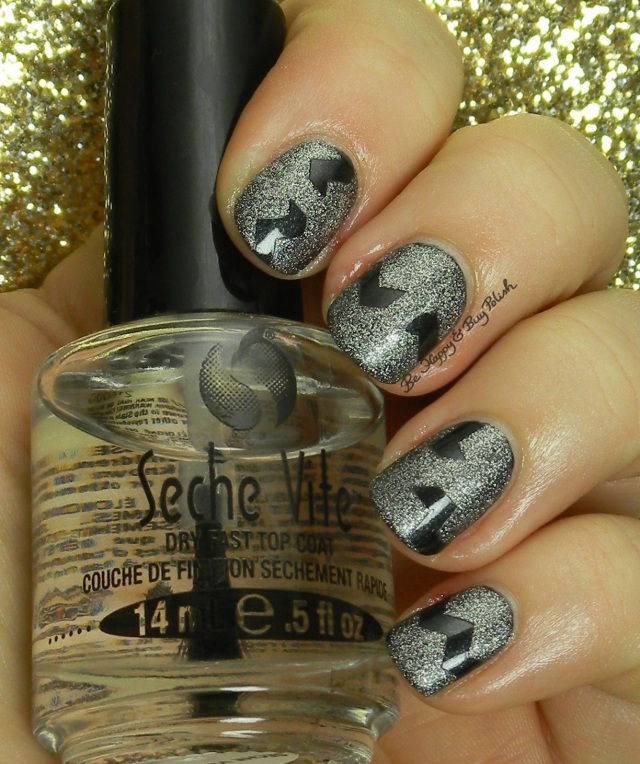 Seche Vite Smokey, Sinful Colors Silver Solution | Be Happy And Buy Polish