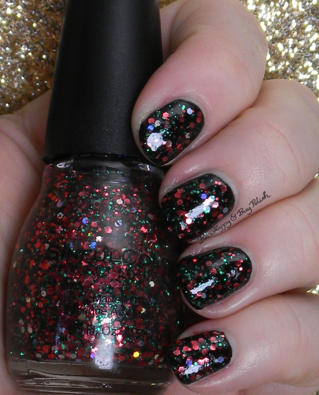Sinful Colors Holiday Rebel, Black on Black | Be Happy And Buy Polish