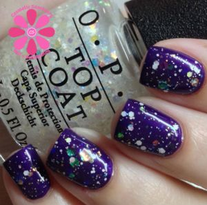 OPI Snow Globetrotter over OPI I Carol About You | Cosmetic Sanctuary
