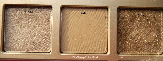 Urban Decay Naked on the Run Resist, Dare, Stun | Be Happy And Buy Polish