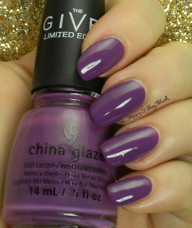 China Glaze Givers Theme | Be Happy And Buy Polish