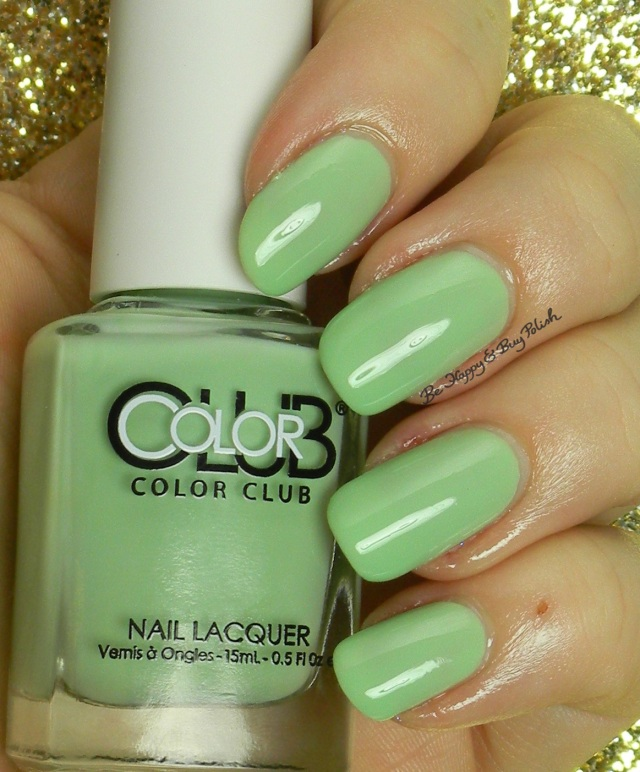 Color Club La Petite Mint-Sieur | Be Happy And Buy Polish