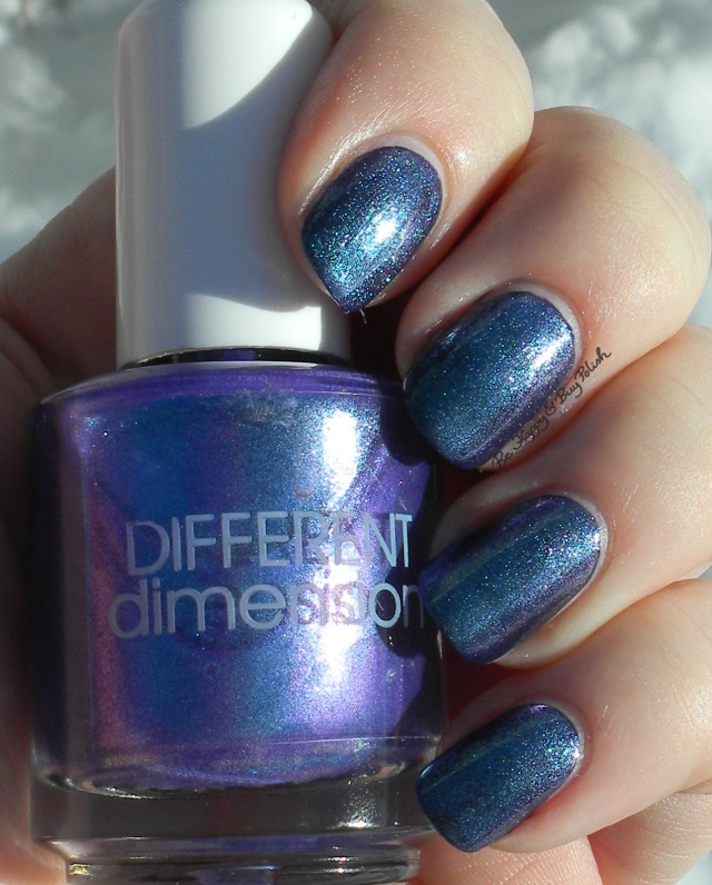 Different Dimension Tulips Are Better Than One over Orly Wild Wisteria sun shot | Be Happy And Buy Polish