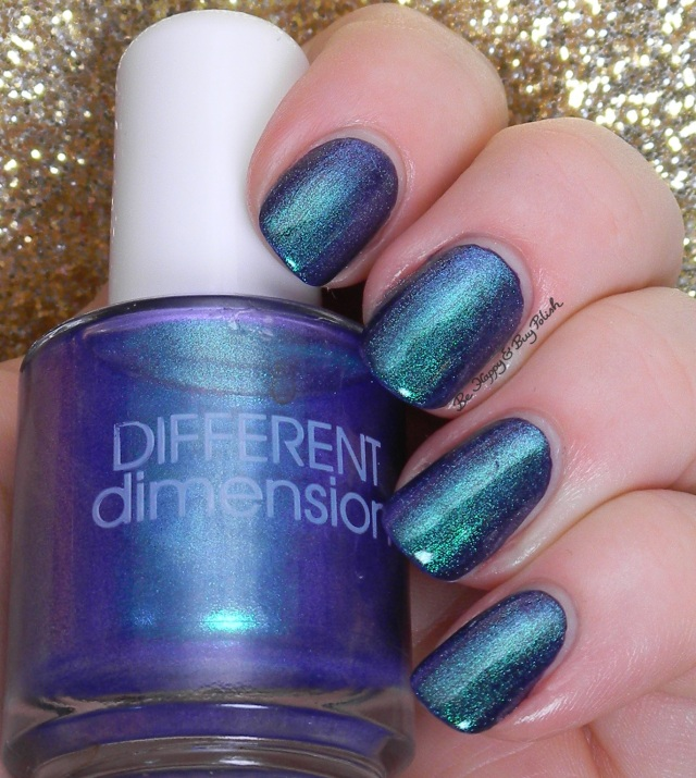 Different Dimension Tulips Are Better Than One over Orly Wild Wisteria | Be Happy And Buy Polish