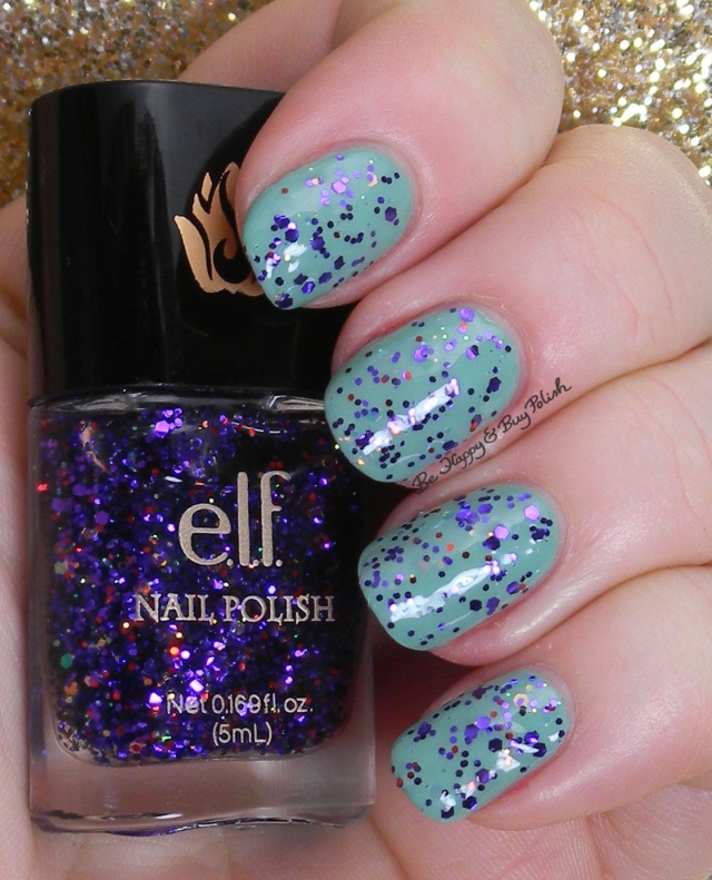 e.l.f. gina girl over mint cream | Be Happy And Buy Polish
