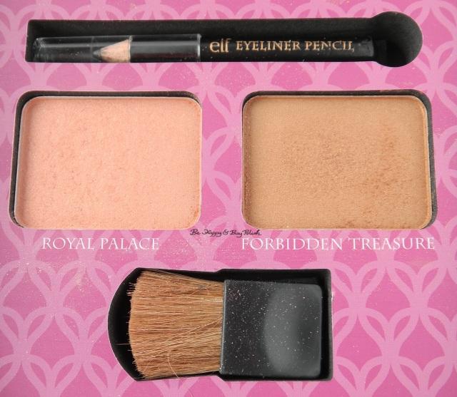 e.l.f. Jasmine Beauty Book blush contour   Be Happy And Buy Polish