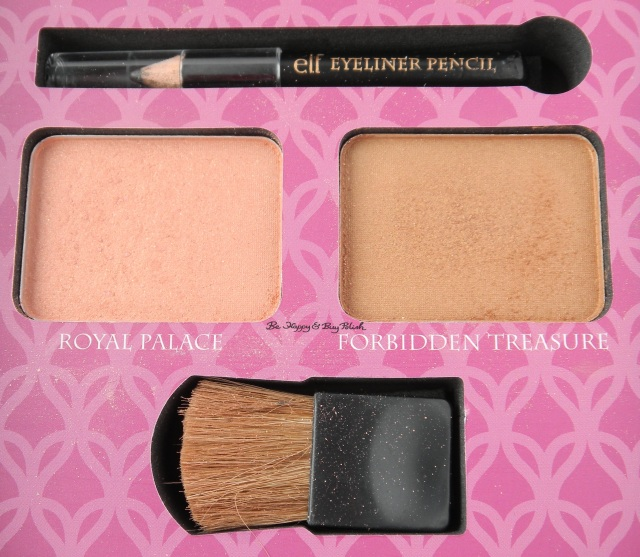 e.l.f. Jasmine Beauty Book blush contour | Be Happy And Buy Polish