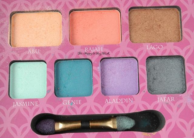 e.l.f. Jasmine Beauty Book eyeshadows | Be Happy And Buy Polish