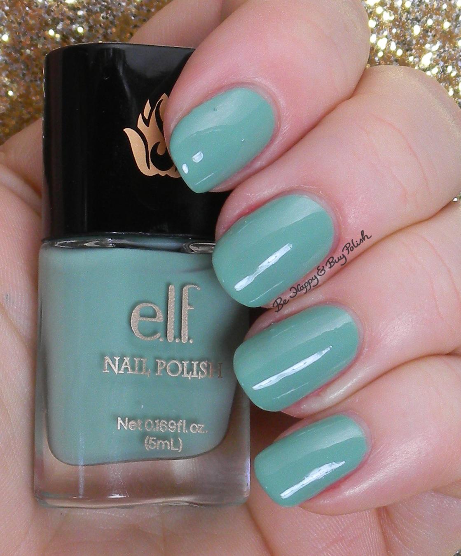 e.l.f. mint cream | Be Happy And Buy Polish