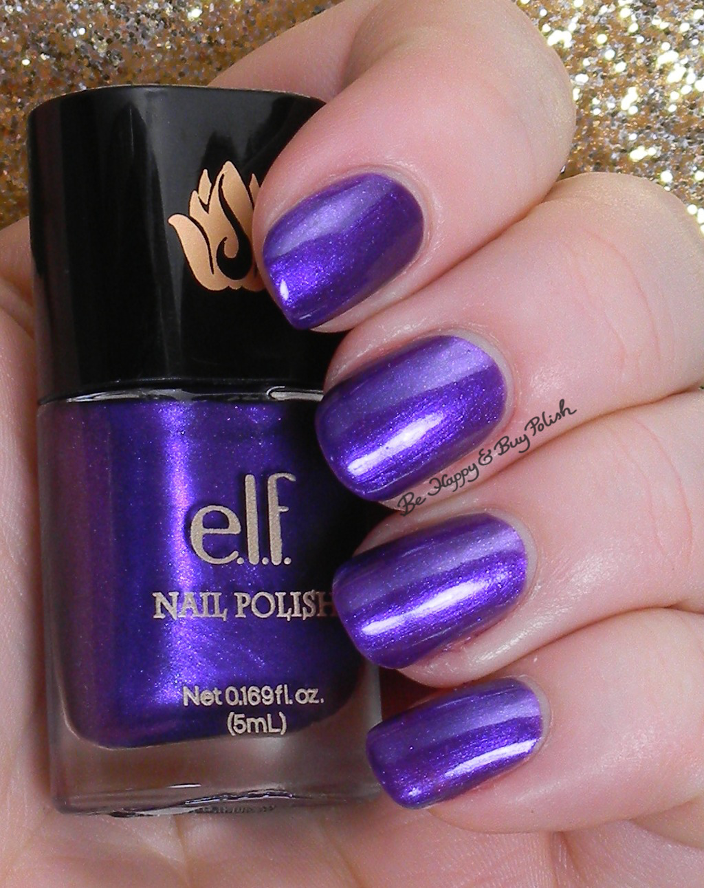 e.l.f. purple dream   Be Happy And Buy Polish