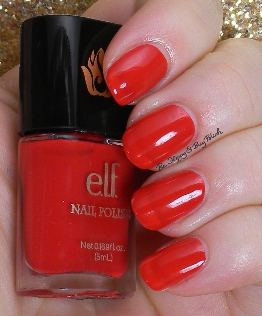 E L F Jasmine Nail Polish Swatches Review Be Happy And Buy Polish