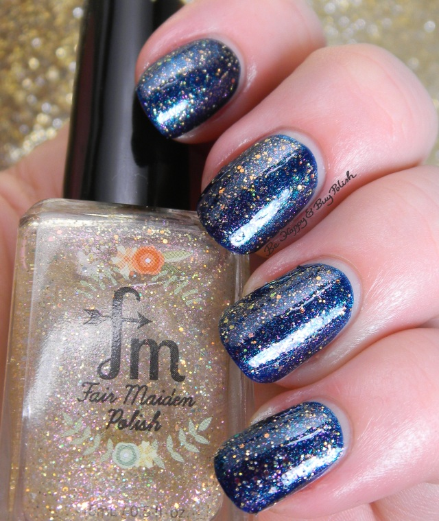 Fair Maiden Polish Pop the Bubbly over Zoya Remy | Be Happy And Buy Polish