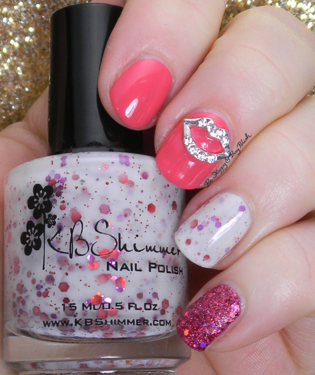 KBShimmer Kisses NOTD | Be Happy And Buy Polish