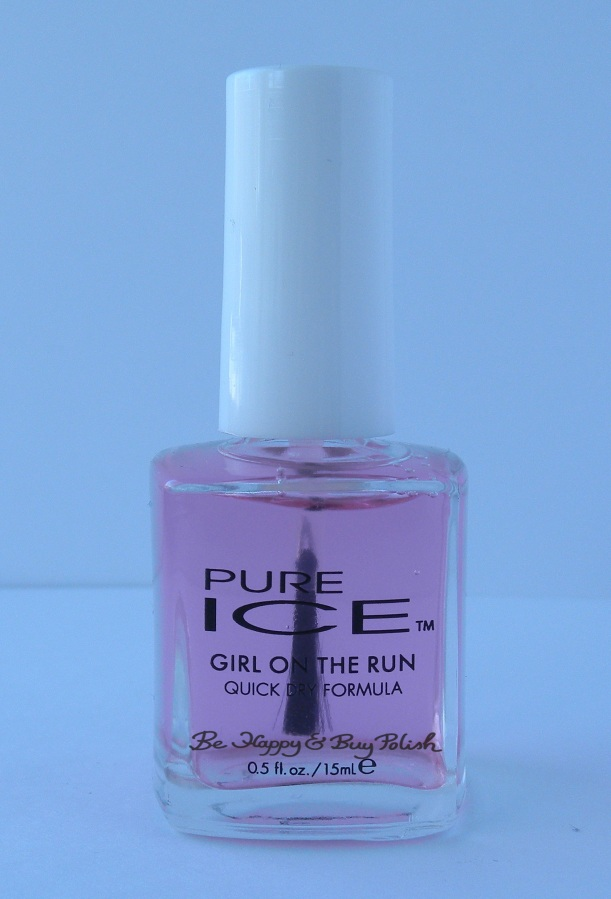 Pure Ice Girl on the Run bottle shot | Be Happy And Buy Polish