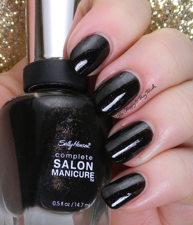 Sally Hansen Midnight in NY | Be Happy And Buy Polish