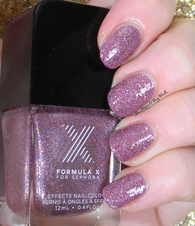 Sephora Formula X Intergalactic with topcoat | Be Happy And Buy Polish
