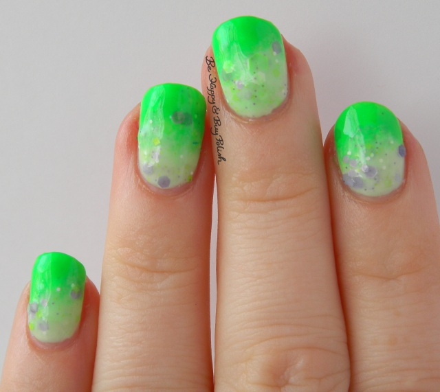 Lilypad Lacquer Lime, KBShimmer Daisy About You | Be Happy And Buy Polish