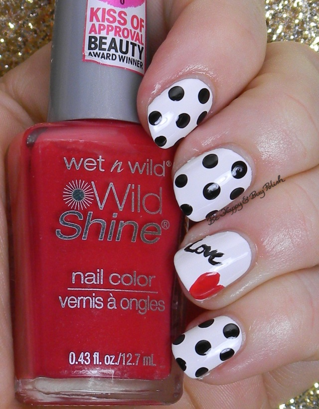 Love Dotticure with Wet N Wild | Be Happy And Buy Polish