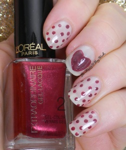 OPI Don't Touch My Tutu, L'Oreal Hot Couture | Be Happy And Buy Polish