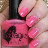 ellagee Neon Shock nail polish collection swatches + review