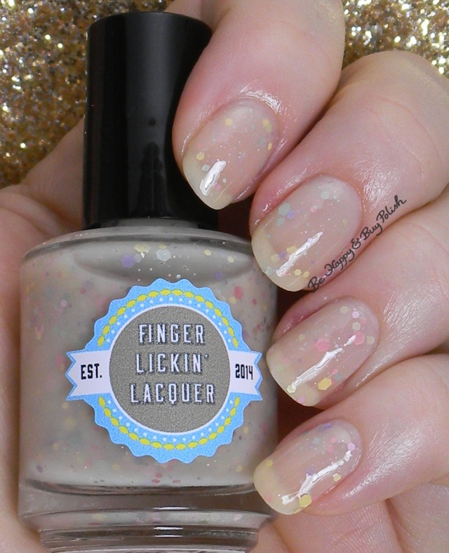 Finger Lickin' Lacquer Birthday Suit | Be Happy And Buy Polish