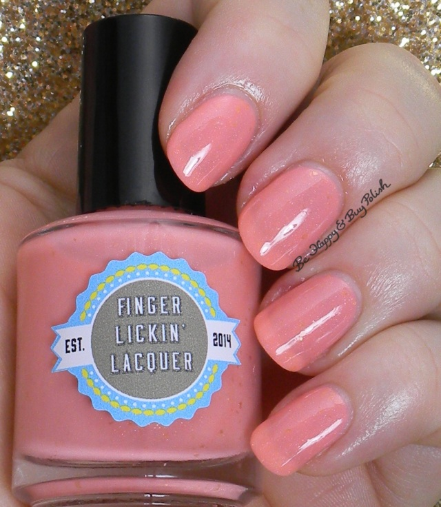 Finger Lickin' Lacquer Peachy Keen | Be Happy And Buy Polish