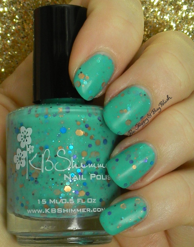 KBShimmer Funky Cold Patina matte | Be Happy And Buy Polish