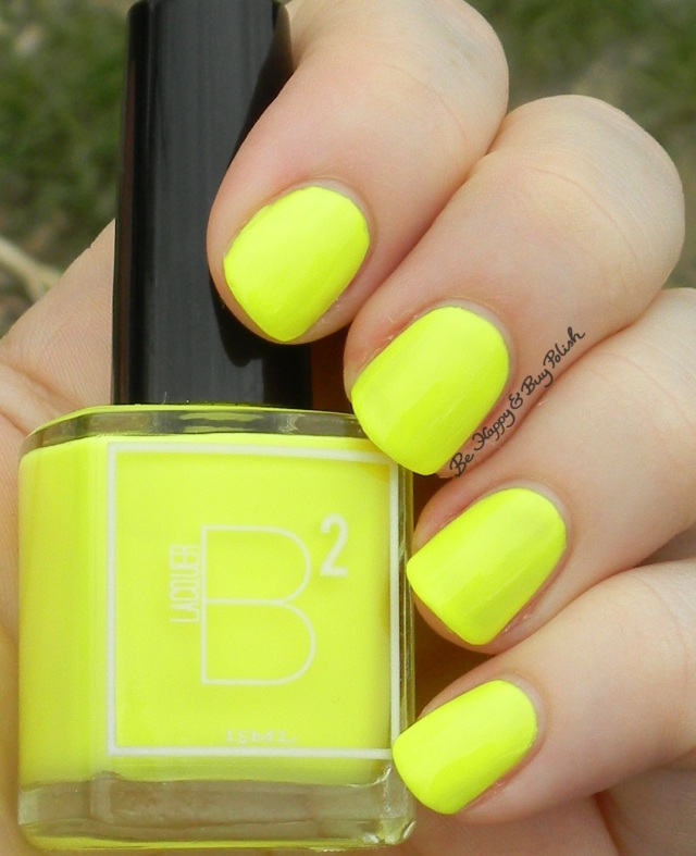 B Squared Lacquer Rave | Be Happy And Buy Polish