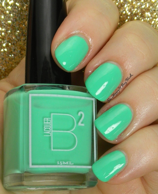 B Squared Lacquer The Drop | Be Happy And Buy Polish