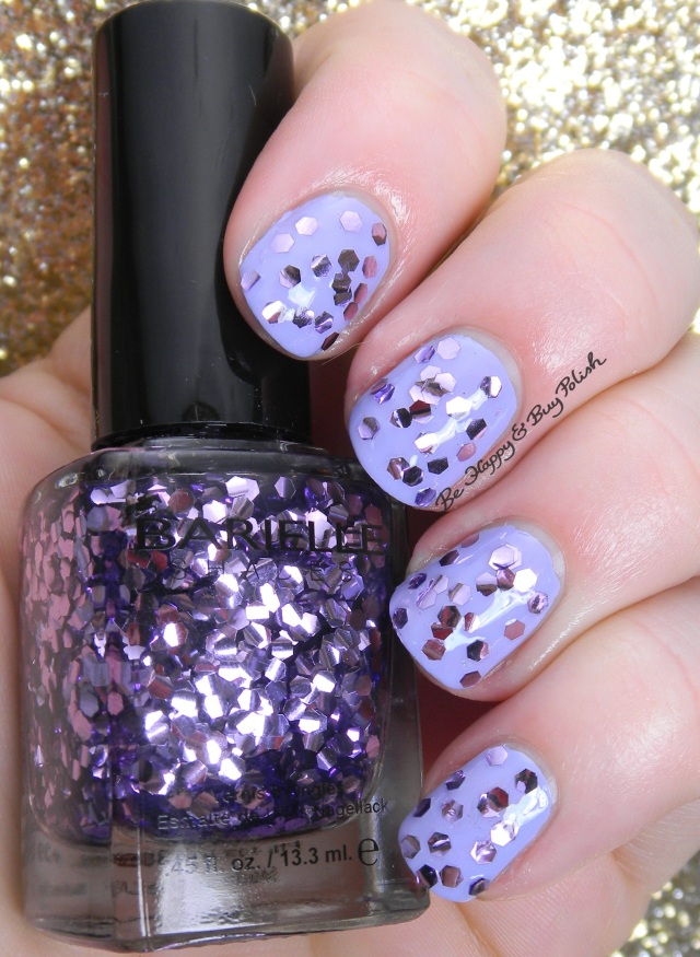 Barielle Amethyst over Barielle Rain in Spain | Be Happy And Buy Polish
