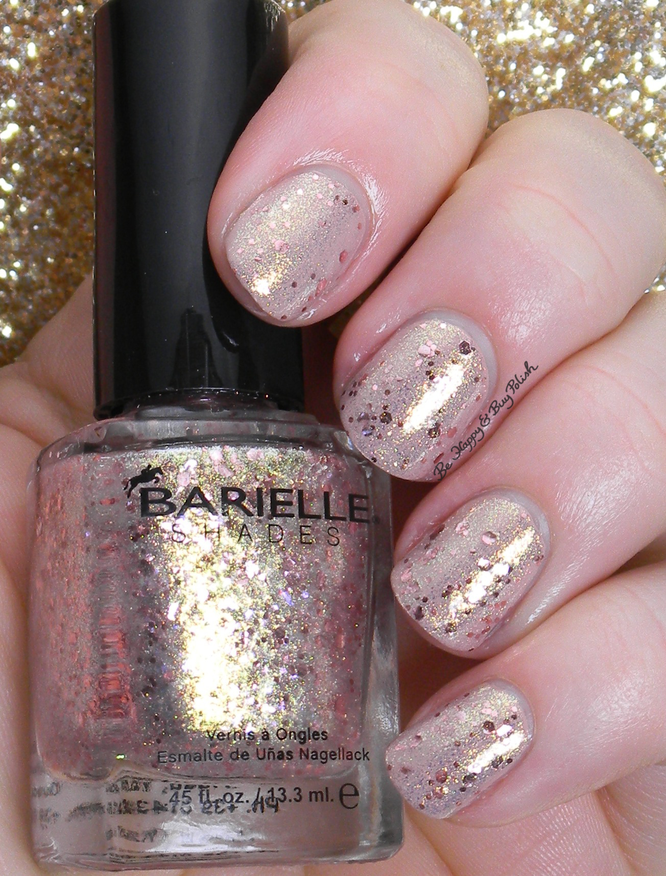 Barielle Bling It On nail polish collection swatches + review | Be ...