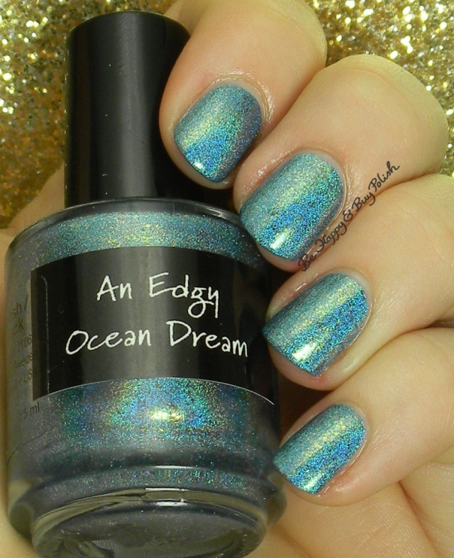 CrowsToes An Edgy Ocean Dream | Be Happy And Buy Polish