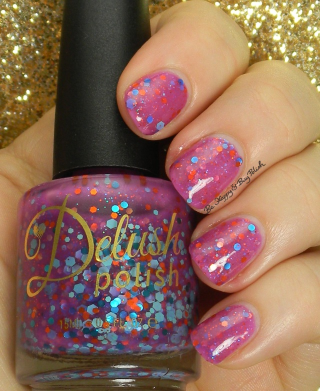 Delush Polish An Offer You Can't Refuchsia | Be Happy And Buy Polish