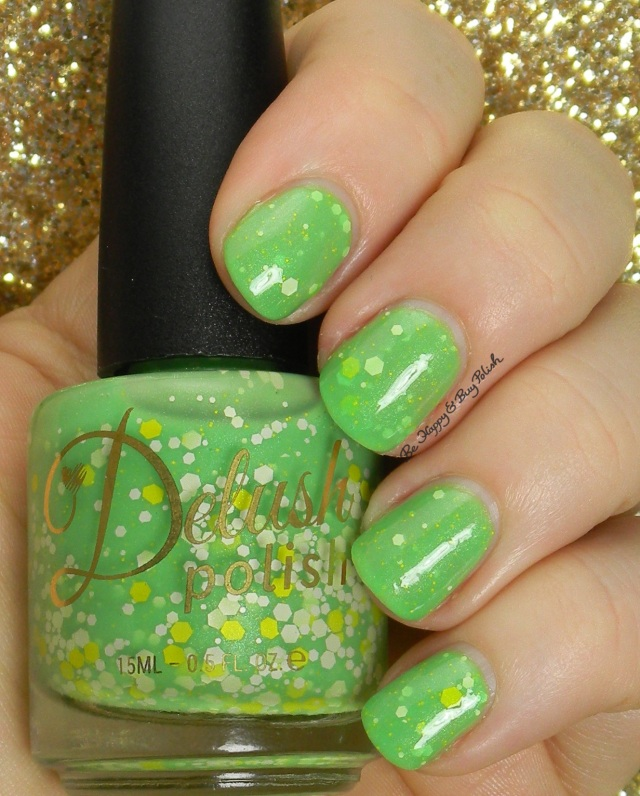 Delush Polish In the Prime of My Lime | Be Happy And Buy Polish