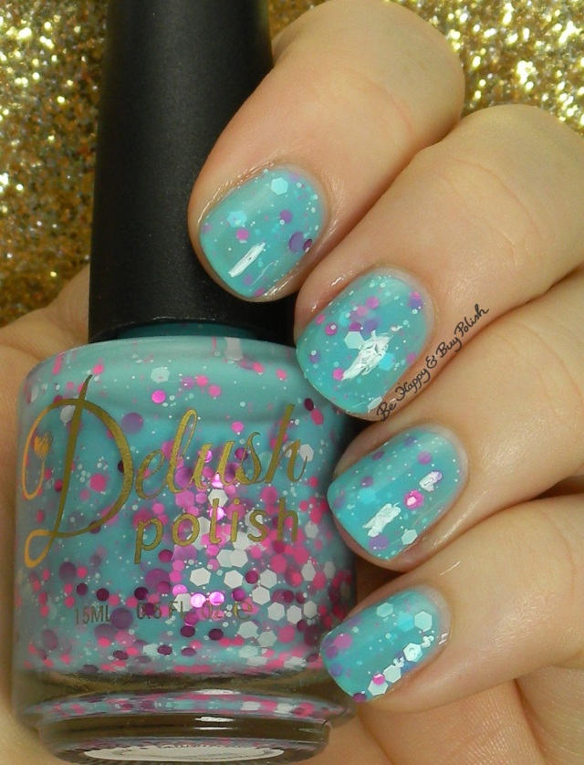 Delush Polish Springing In The Rain | Be Happy And Buy Polish