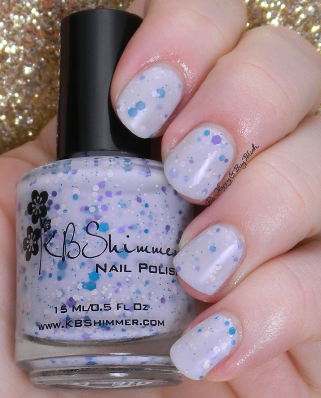 KBShimmer I'm So Sweet Pea matte | Be Happy And Buy Polish