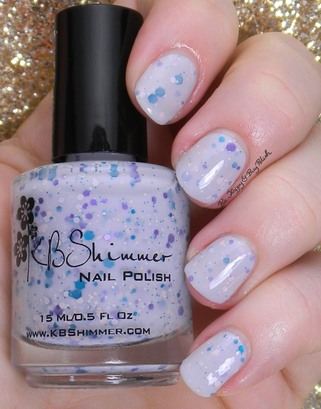 KBShimmer I'm So Sweet Pea | Be Happy And Buy Polish