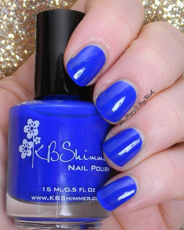 KBShimmer Low and Be Bold | Be Happy And Buy Polish