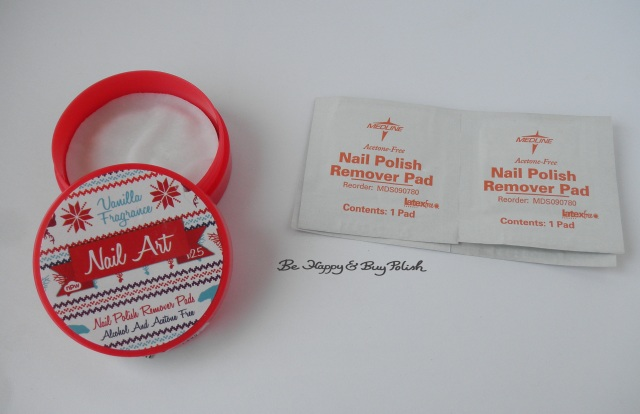 nail polish remover pads | Be Happy And Buy Polish