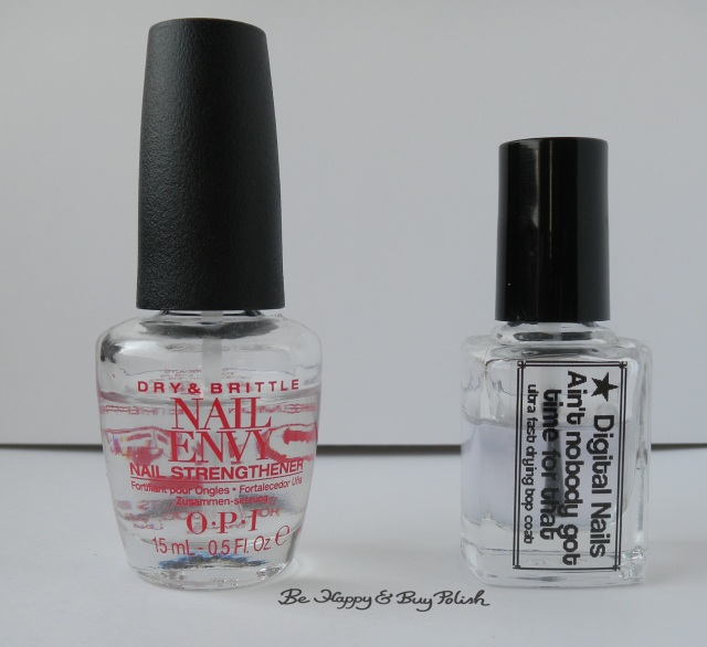 OPI Nail Envy, Digital Nails Ain't Nobody Got Time For That | Be Happy And Buy Polish
