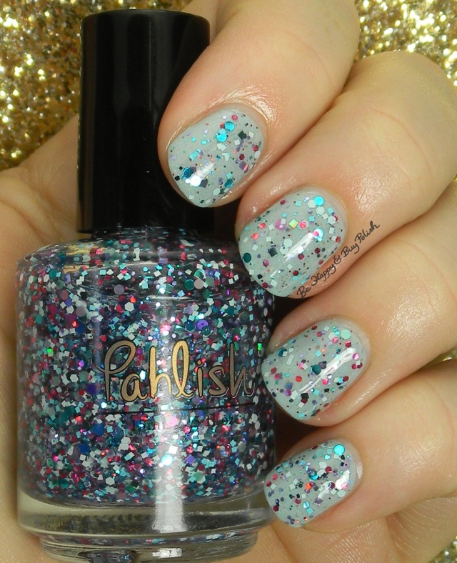 Pahlish Confetti Cannon over Pahlish She Sells Sea Shells | Be Happy And Buy Polish