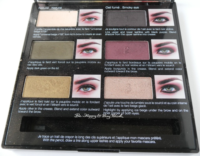 Sephora eyeshadow palette for green eyes | Be Happy And Buy Polish